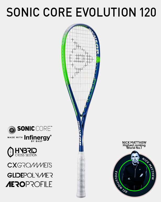 Dunlop Sonic Core Evolution 120